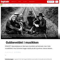 Gubbeveldet i musikken - Dagbladet