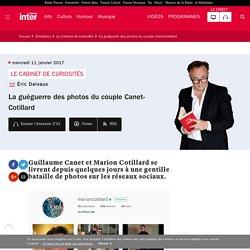 La guéguerre des photos du couple Canet-Cotillard