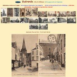 Guerande, cartes postales