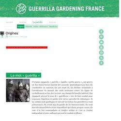 Green Guerilla : reconquérir la ville