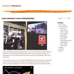 Guerilla Marketing mit AMBERMEDIA ⎪ amber BEAMER
