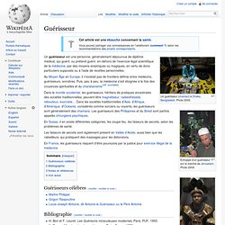 Guérisseur/ Wikipedia