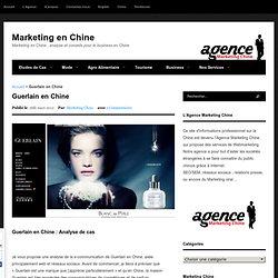 Guerlain en Chine