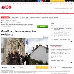 Guerlédan : les élus entrent en résistance