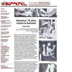 Guernica: 75 años contra la barbarie