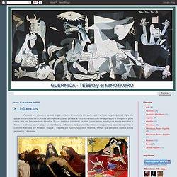 Guernica - Picasso: X - Influencias