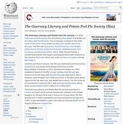 The Guernsey Literary and Potato Peel Pie Society (film)