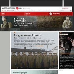 Guerre 14-18 - Accueil