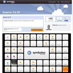 Guerre 14-18 - Symbaloo