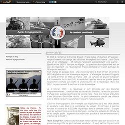 guerre 39/45 - Pro Patria