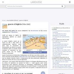 guerre d'Algérie 1954-1962