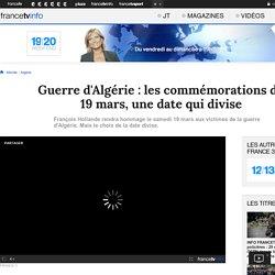 Guerre d'Algérie : les commémorations du 19 mars, une date qui divise