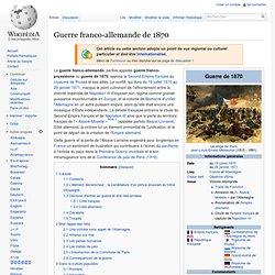 Guerre franco-allemande de 1870