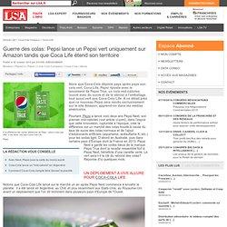 Guerre des colas: Pepsi lance un Pepsi vert...