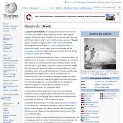 Guerre du Désert