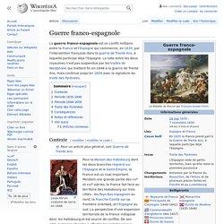 Guerre franco-espagnole