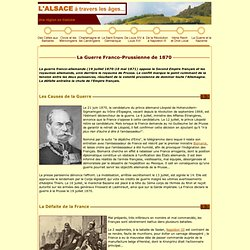 Le Guerre Franco-Prussienne de 1870