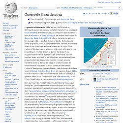 Document 7.a - Guerre de Gaza de 2014