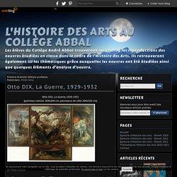 Otto DIX, La Guerre, 1929-1932 (une analyse sur le blog HDA du Collège Abbal)