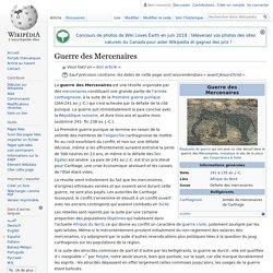 Guerre des Mercenaires