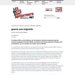 Guerre aux migrants