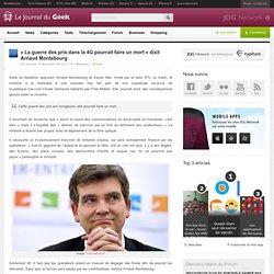 «La guerre des prix dans la 4G pourrait faire un mort» dixit Arnaud Montebourg