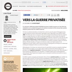 Vers la guerre privatisée » Article » OWNI, Digital Journalism