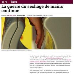 La guerre du séchage de mains continue