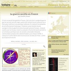La guerre secrète en France