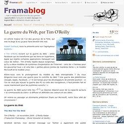La guerre du Web, par Tim O'Reilly