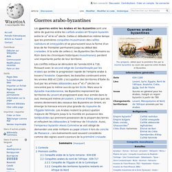 Guerres arabo-byzantines