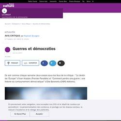 Guerres et démocraties