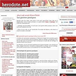 264 à 146 avant Jésus-Christ - Les guerres puniques