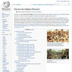 Guerres de religion (France)