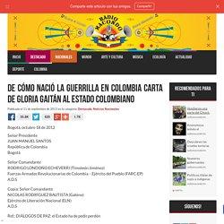 De cómo nació la guerrilla en Colombia Carta de Gloria Gaitán al estado colombiano