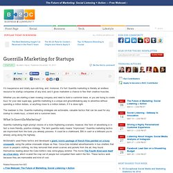 Guerrilla Marketing for Startups