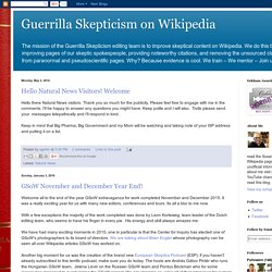 Godzilla Skepticism on Wikipedia
