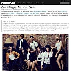 Guest Blogger: Anderson Davis