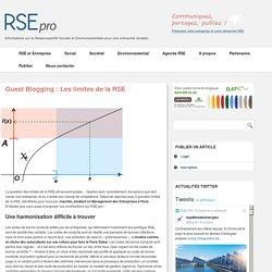 Les limites de la RSE - Contraintes de la RSE, Limites, Faiblesses