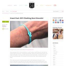 Guest Post: DIY Climbing Knot Bracelet