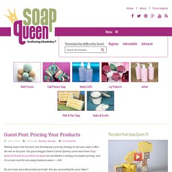 Guest Post: Pricing Your Products