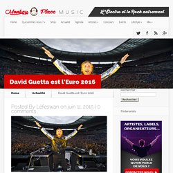 David Guetta aux platines