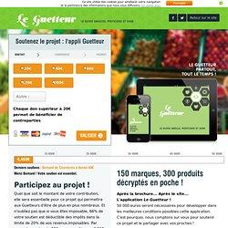 Le Guetteur - Le Guide Abeilles, Pesticides et OGM - Greenpeace France
