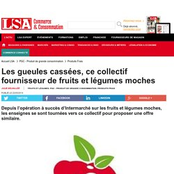 Les gueules cassées, ce collectif fournisseur... - Fruits et légumes