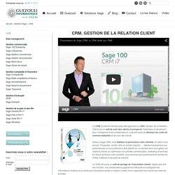 Guézouli, Sage Rouen : gestion de la relation client