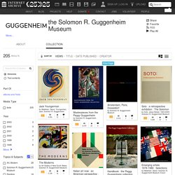 the Solomon R. Guggenheim Museum : Free Texts : Free Download, Borrow and Streaming