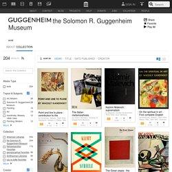 Télécharger gratuitement les publications du Guggenheim. Solomon R. Guggenheim Museum : Free Texts : Download & Streaming : Internet Archive