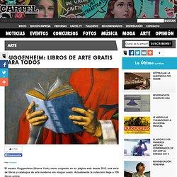 GUGGENHEIM: LIBROS DE ARTE GRATIS PARA TODOS