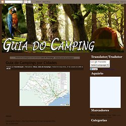 Guia do Camping: Lista de Campings