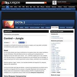 Guía DOTA 2: Control – Jungla
